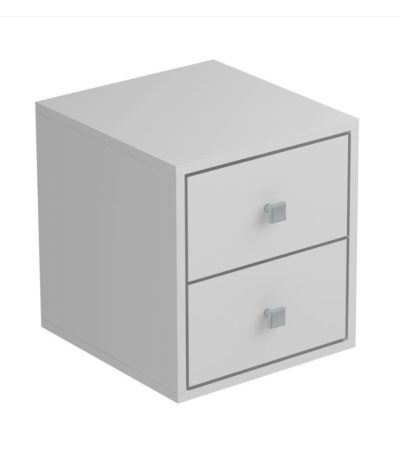 BCB 01.06 Cube with Two Drawers